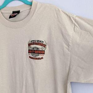 Harley Davidson - Embroidered Emblem T-shirt